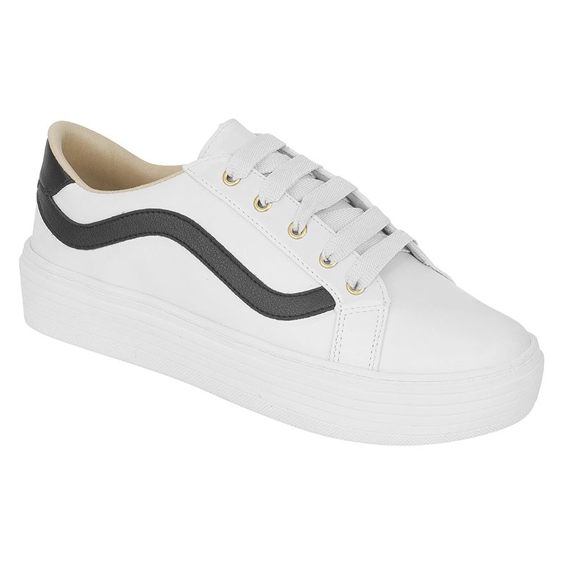 Tênis Casual Adulto Estilo Old School 111.12.001 | Branco