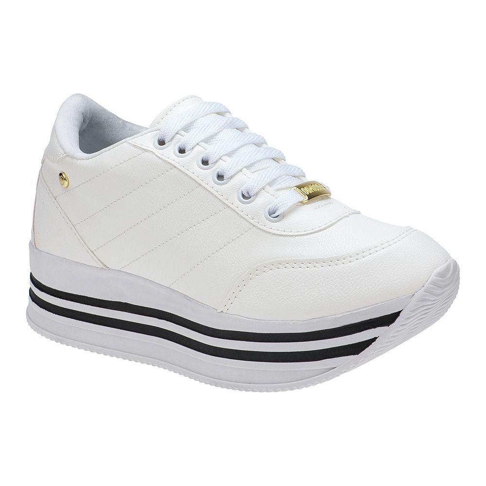 Tenis Feminino Jogging 126.02.001 | Branco