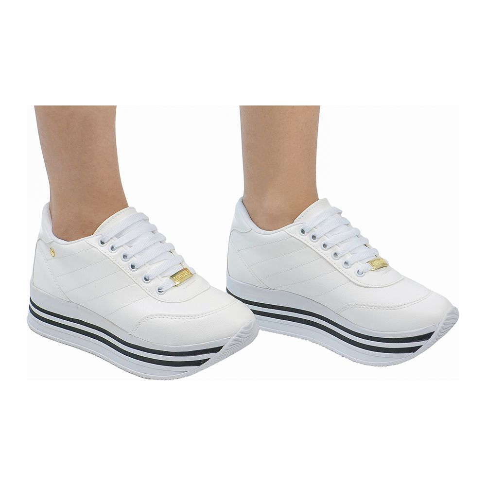 Tênis Feminino Jogging 126.02.001 | Branco
