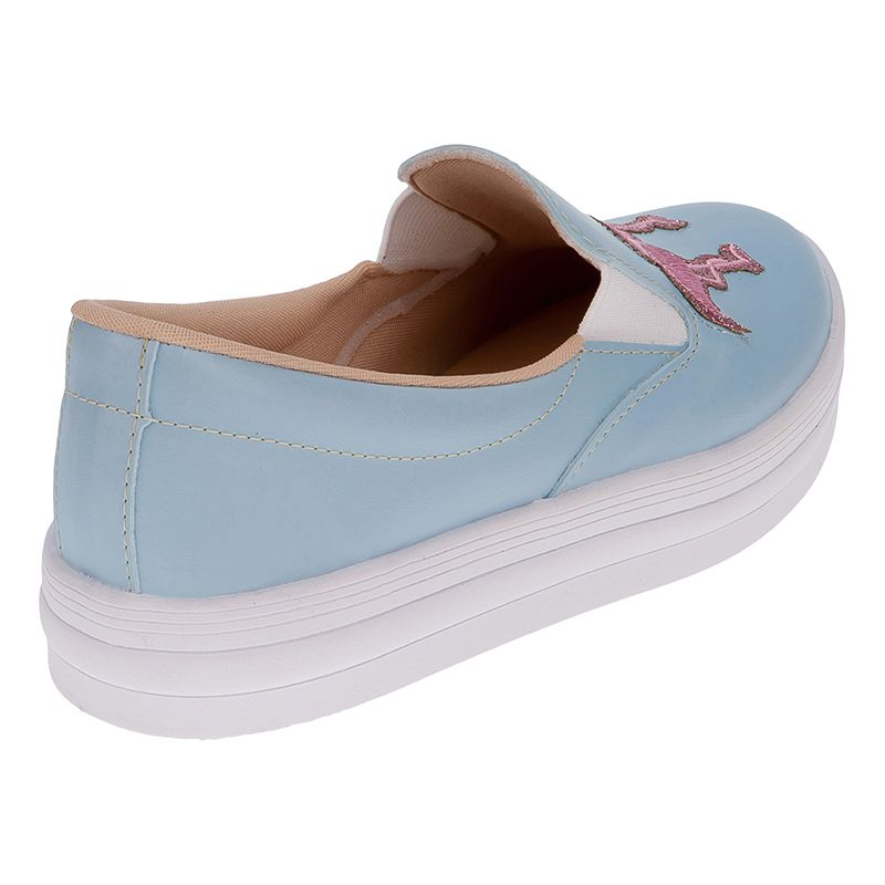 ... Tenis Slip On Infantil Menina Fashion Iate Flamingo 155.125.089  f982031700c9f