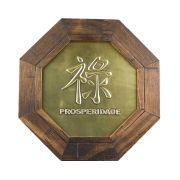 Oitavado Decorativo Prosperidade, 18,5cm