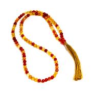 Japamala de Pedra Natural Ágata - 108 Contas