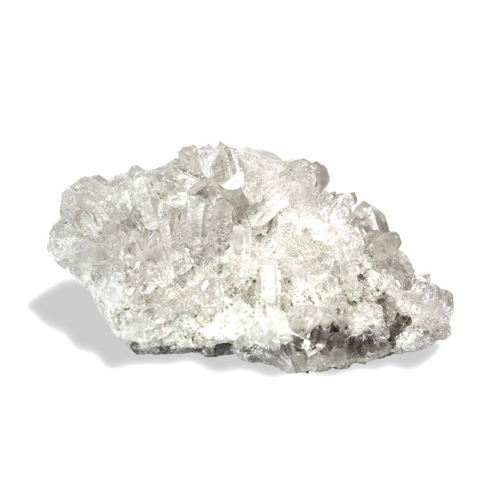 Drusa Quartzo Cristal - 11x9 cm