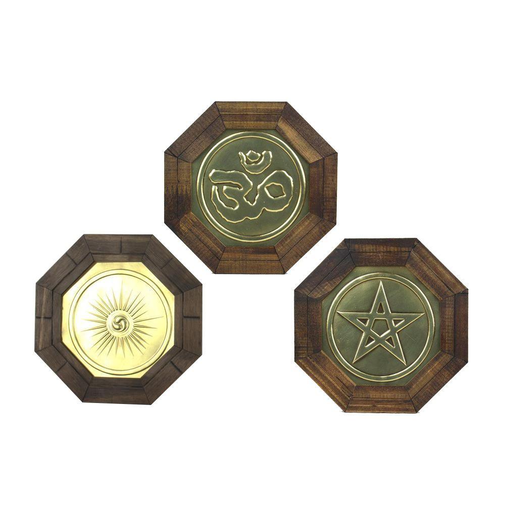 Kit de Oitavado para Proteção no Lar (tam. 18,5x18,5cm - cada)