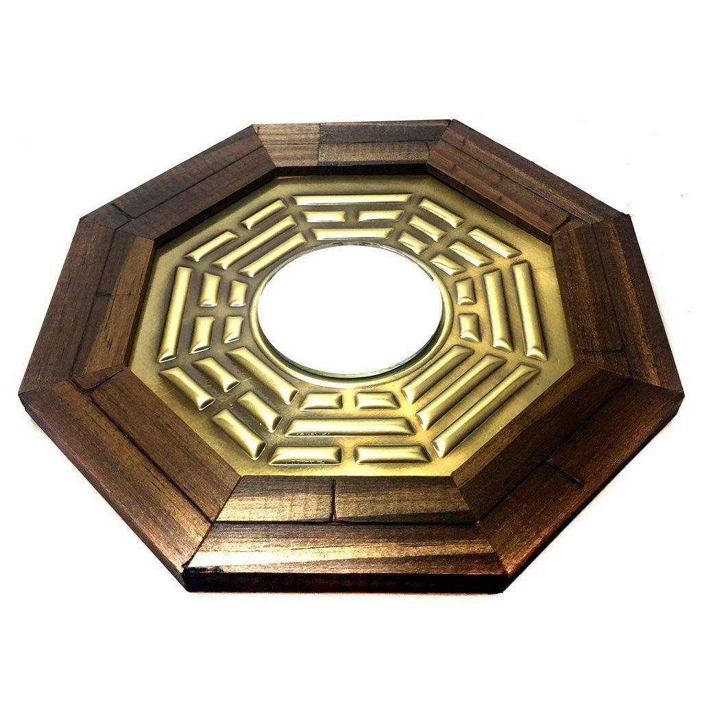 Quadro Baguá Espelho Convexo (Pa Kua)