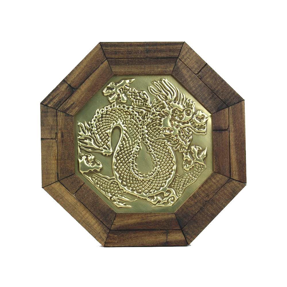 Oitavado  Decorativo Símbolo Dragão