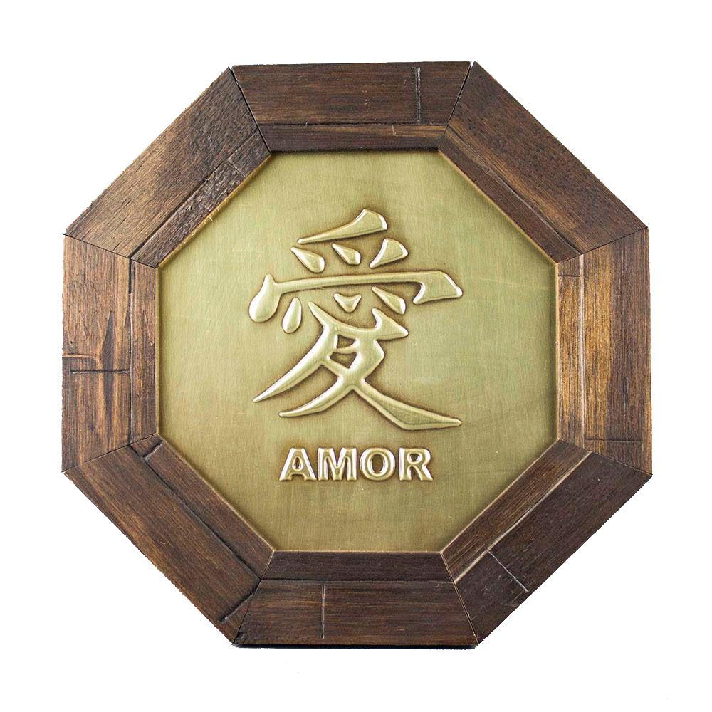 Oitavado Decorativo Símbolo Amor - 18cm