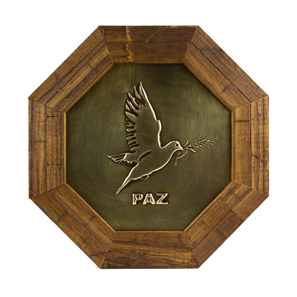Quadro  Decorativo Pomba da Paz