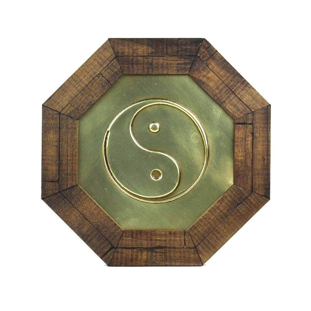 Oitavado Decorativo Símbolo Símbolo Yin Yang