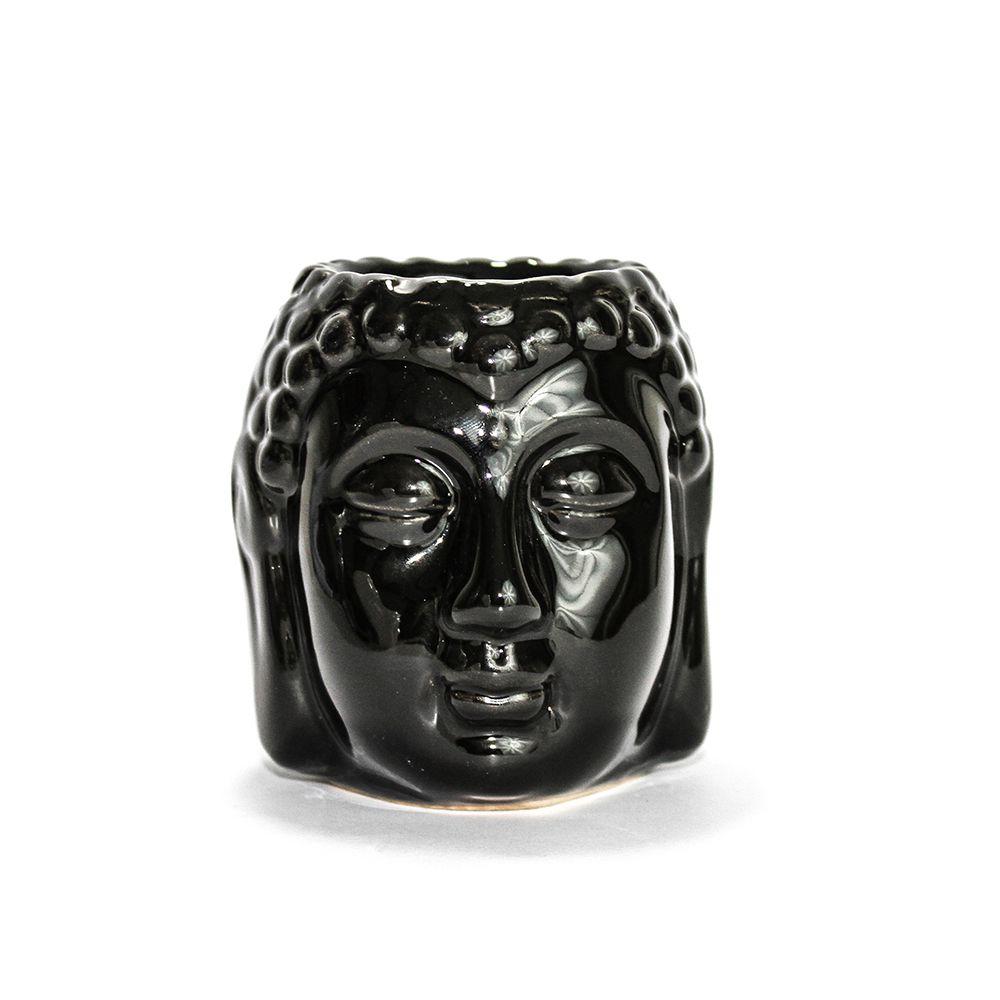 Rechaud Buddha Head - Preto