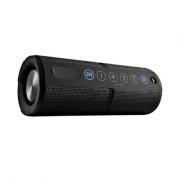 Caixa Som Waterproof Bluetooth Preta Pulse