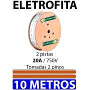 Eletrofita 2 Pistas 10 Metros 750V 20A