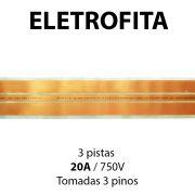 Eletrofita 3 Pistas 10 Metros 750V 20A
