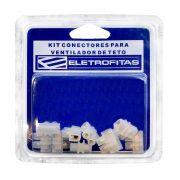 Kit Conectores Eletrofita 5 Pistas 10A EF5x5