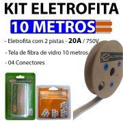 Kit Eletrofita 2 Pistas 10 Metros 750v 20a