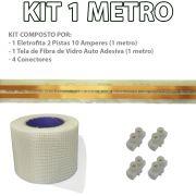 Kit Eletrofita 2 Pistas 1 Metro 750V 10A