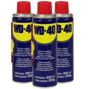 Kit Wd40 C/3 uni Lubrificante Anticorrosivo 300ml