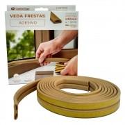 Veda Frestas Janela Porta 4mm Comfort Door - 6 Metros