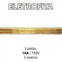 Eletrofita 2 Pistas 5 Metros 750V 10A