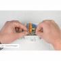 Kit 6 Conector Wago Emenda 2 Fios Mod. 221-612