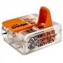 Kit Com 30 Conector Wago Emenda 3 Fios Mod 221-413