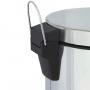 Lixeira Inox  3 Litros Redonda Pedal Mor