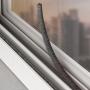 Veda Frestas Escova Adesivo Porta Janela 5x7mm