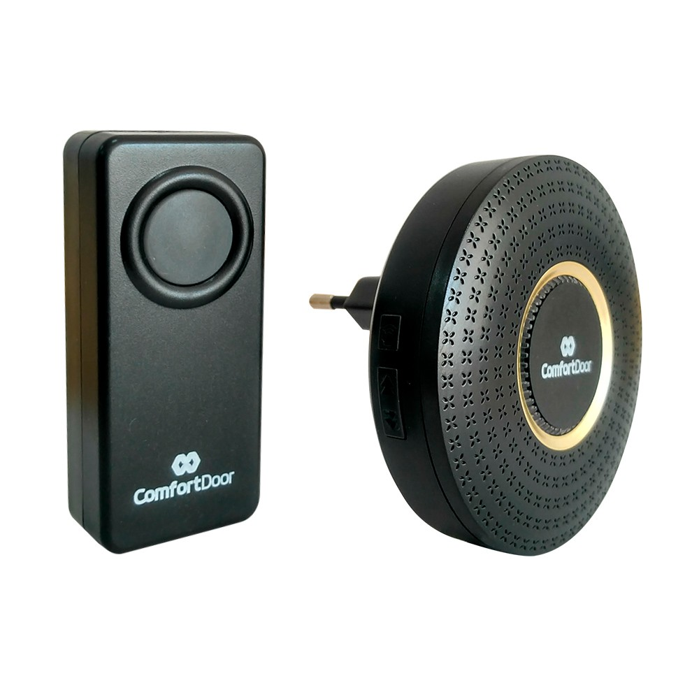 Campainha Sem Fio Wireless Bivolt de Tomada Comfortdoor