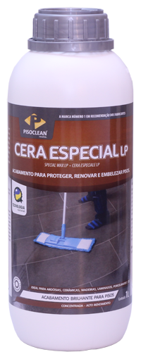 Cera Especial Brilho LP Pisoclean 1L