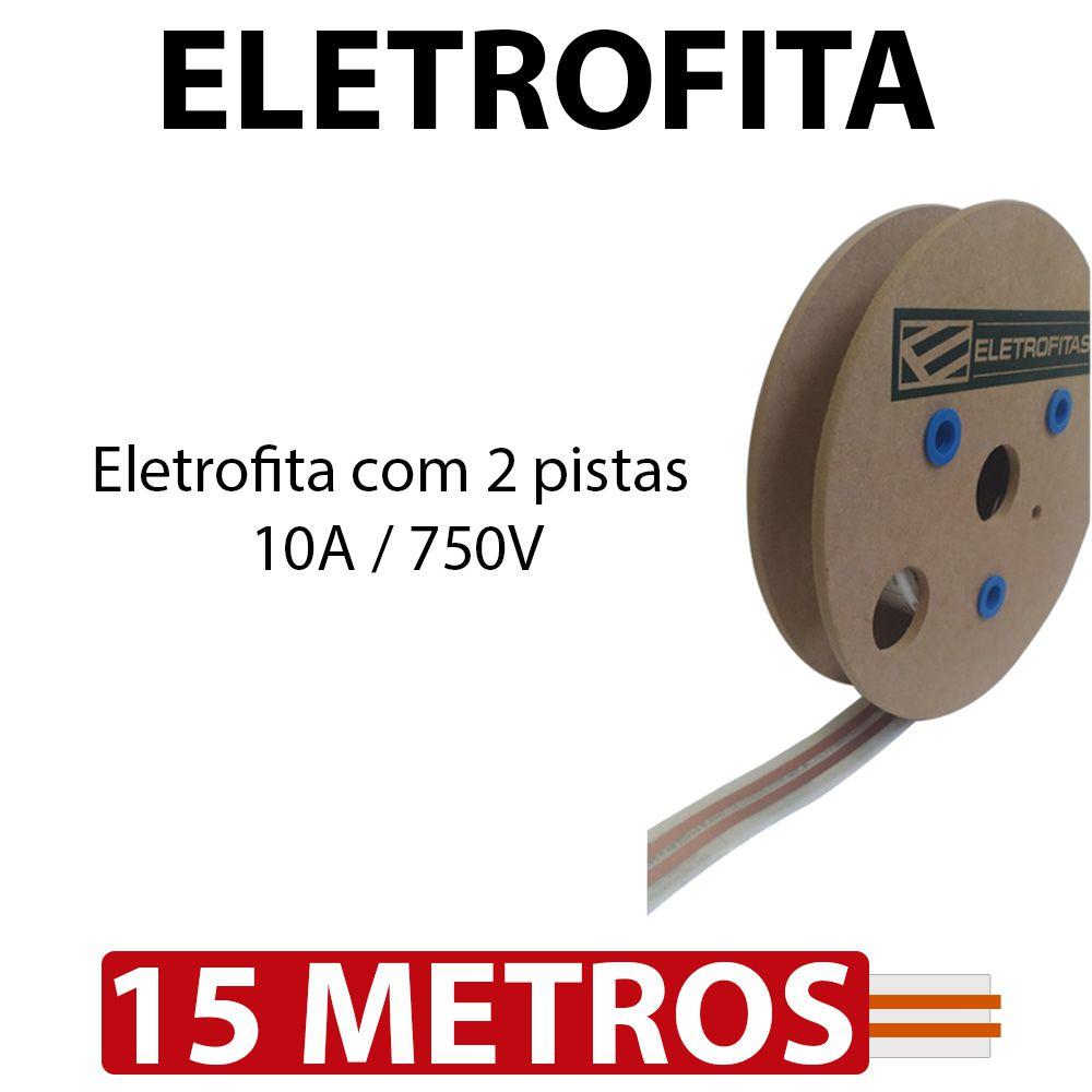 Eletrofita 2 Pistas 15 Metros 750V 10A