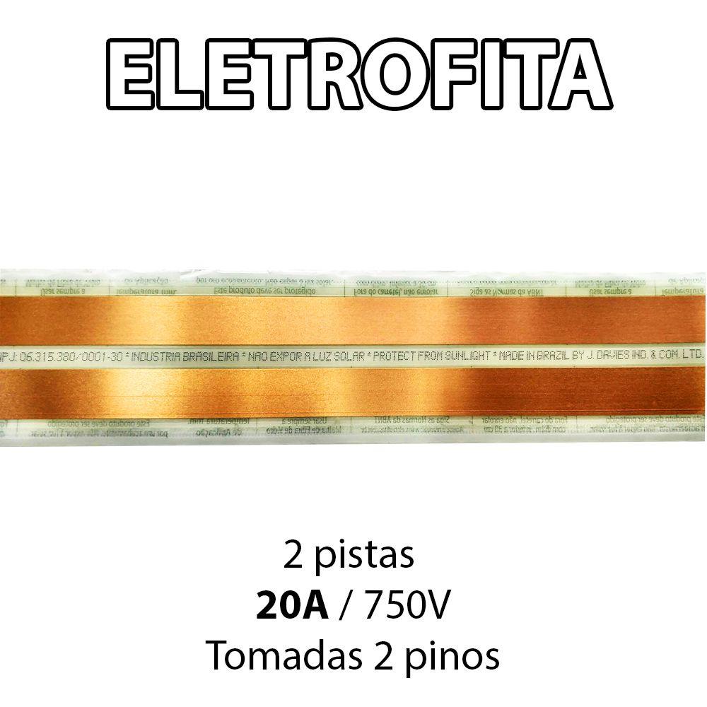 Eletrofita 2 Pistas 8 Metros 750V 20A