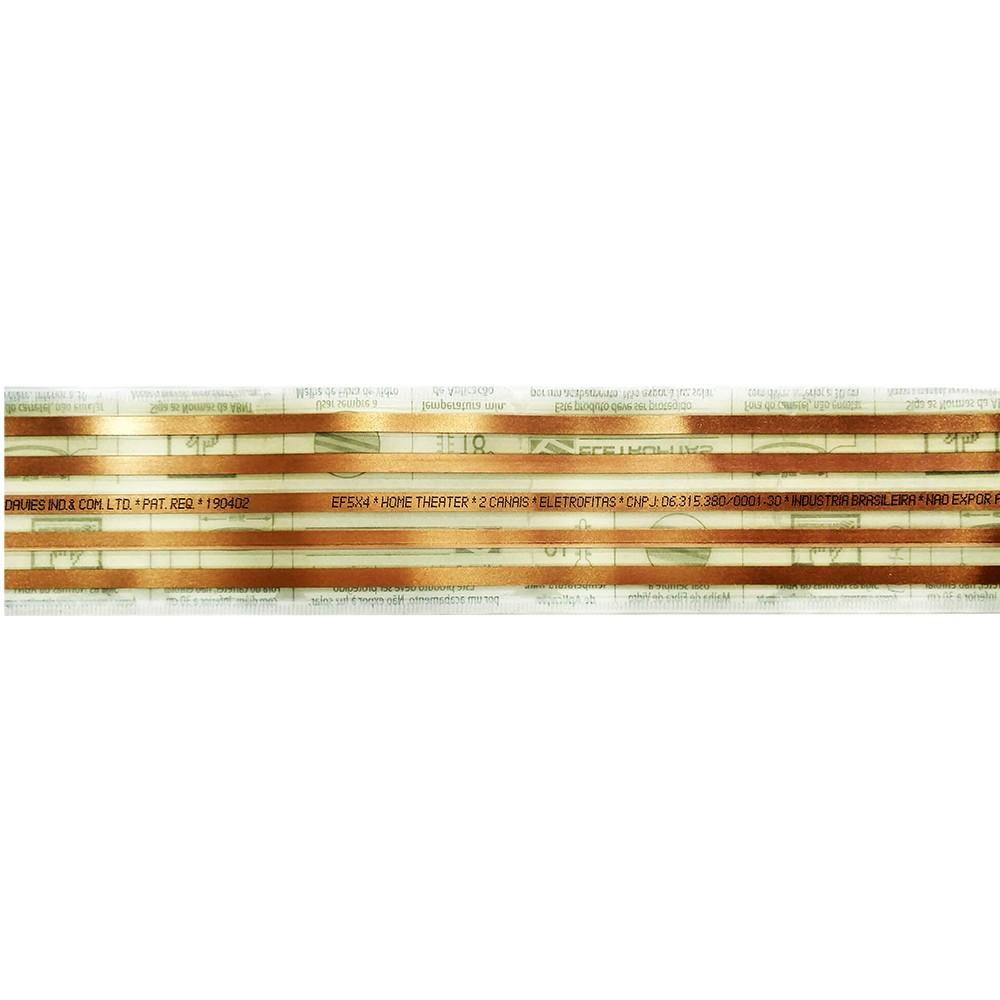 Eletrofita 5 Pistas 1 Metro 750V 10A