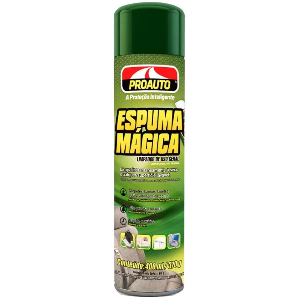 Espuma Magica Limpa a Seco Proauto 400ml