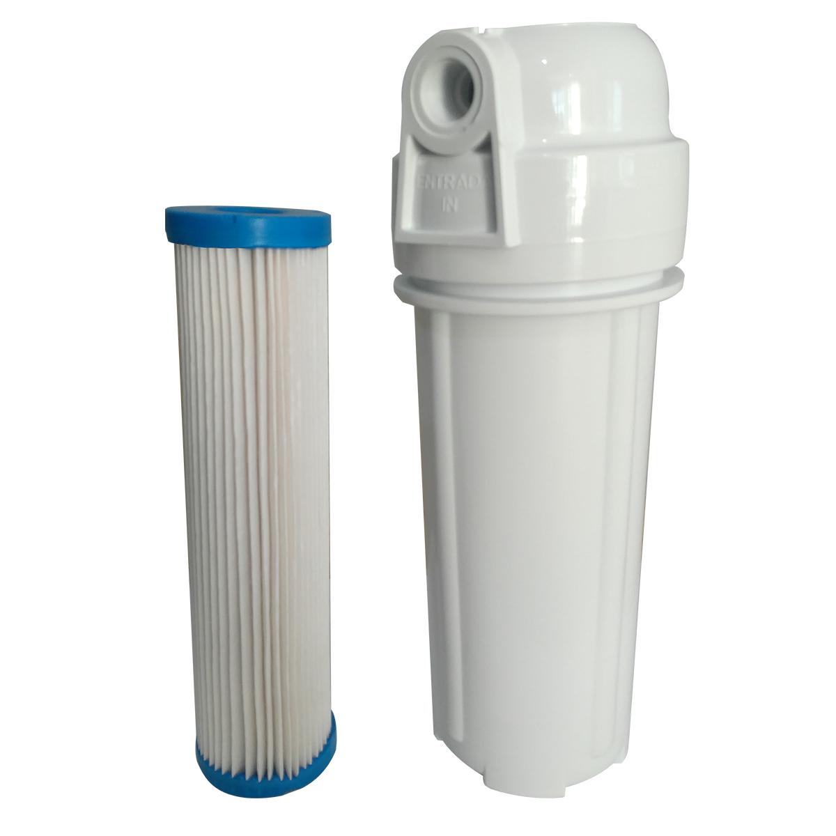 Filtro para Caixa D'Água e Cavalete Plissado Rosca 1/2
