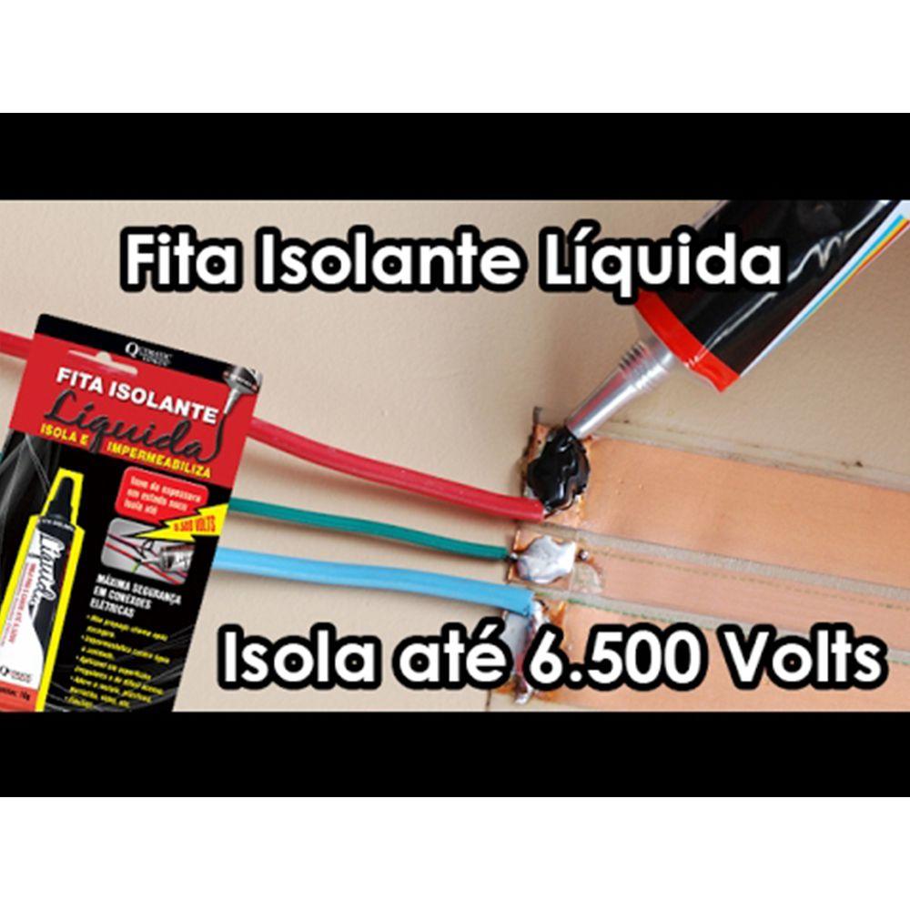 Fita Isolante Liquida Bisnaga 50g - Preta