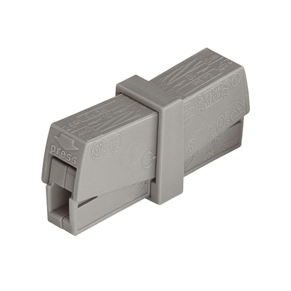 Kit 30 Conector Wago Emenda 2 Fios Mod. 224-201