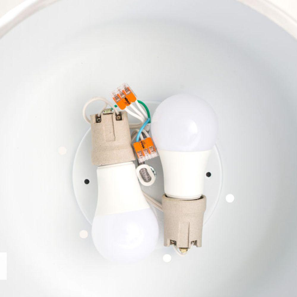 Kit Com 30 Conector Wago Emenda 2 Fios Mod 221-412