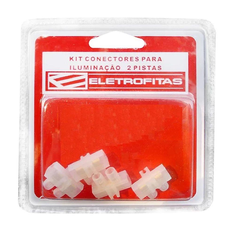 Kit Conectores Eletrofita 2 Pistas 15A EF9x2