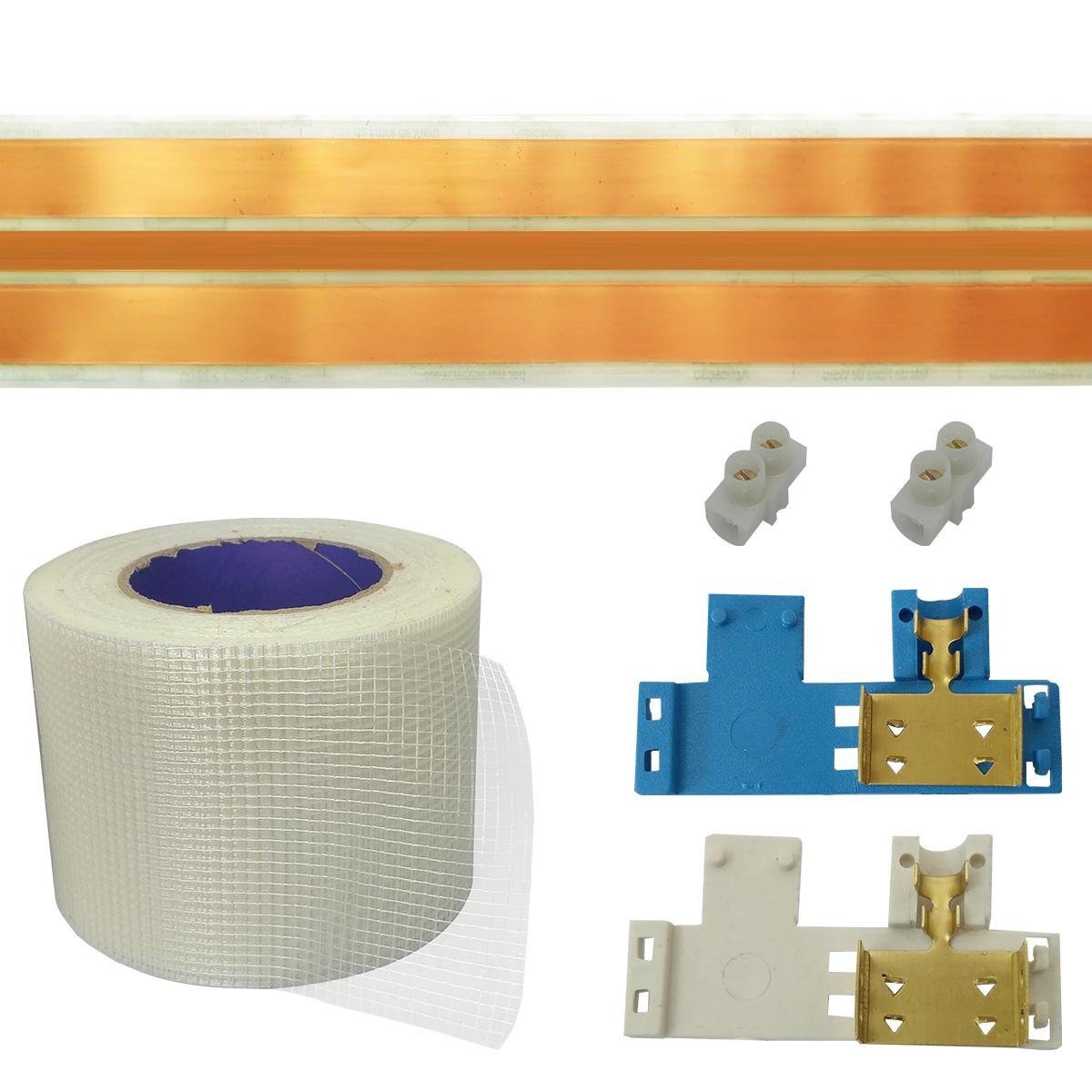 Kit Eletrofita 3 Pistas 5 Metros 750V 20A