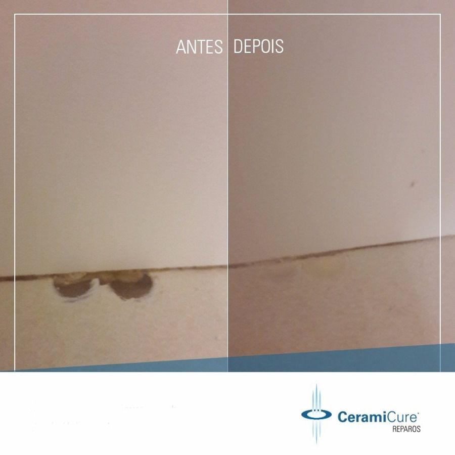 Kit Reparos Pisos Cerâmicos e Porcelanato CeramiCure