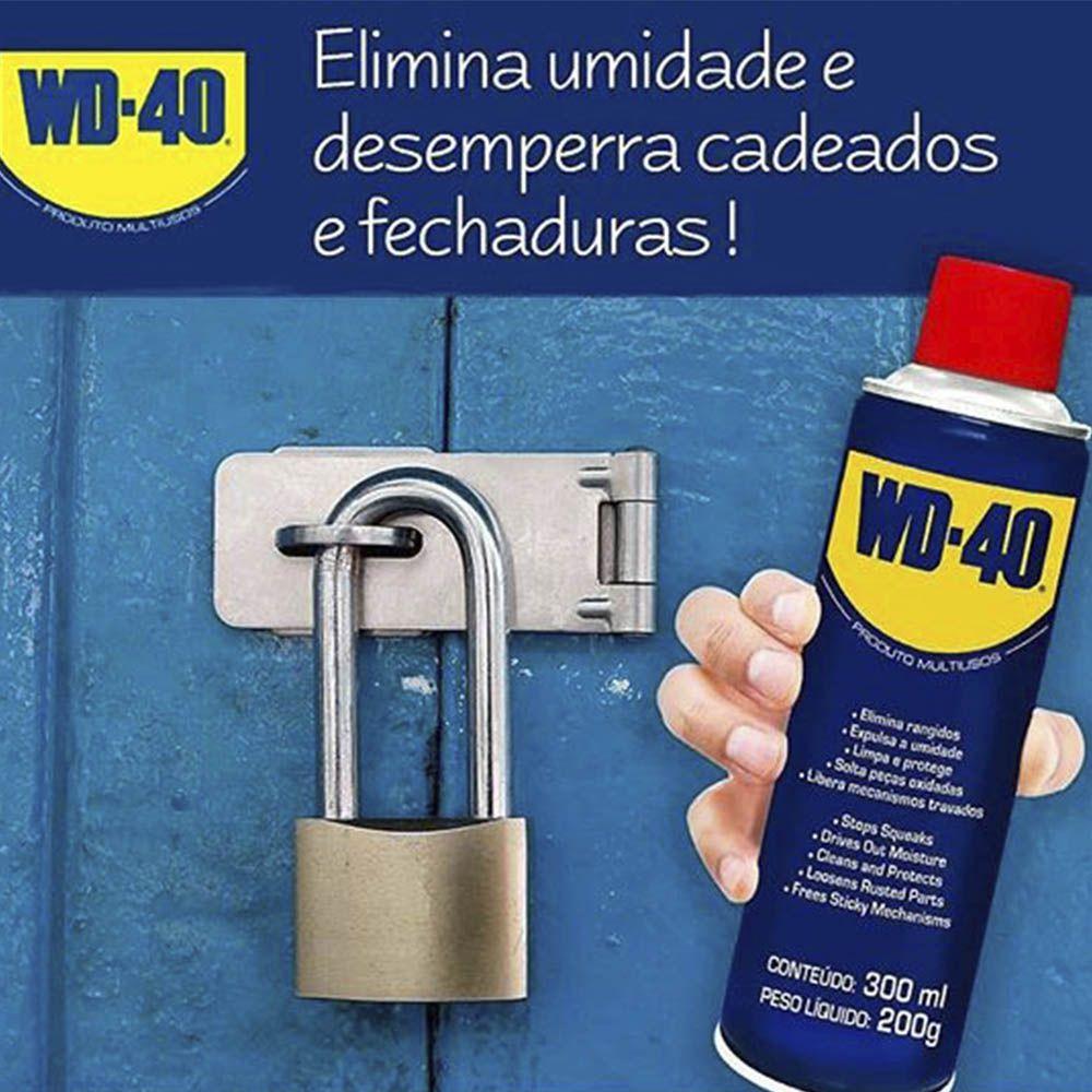 Kit Wd40 C/3 uni Lubrificante Anticorrosivo 300ml