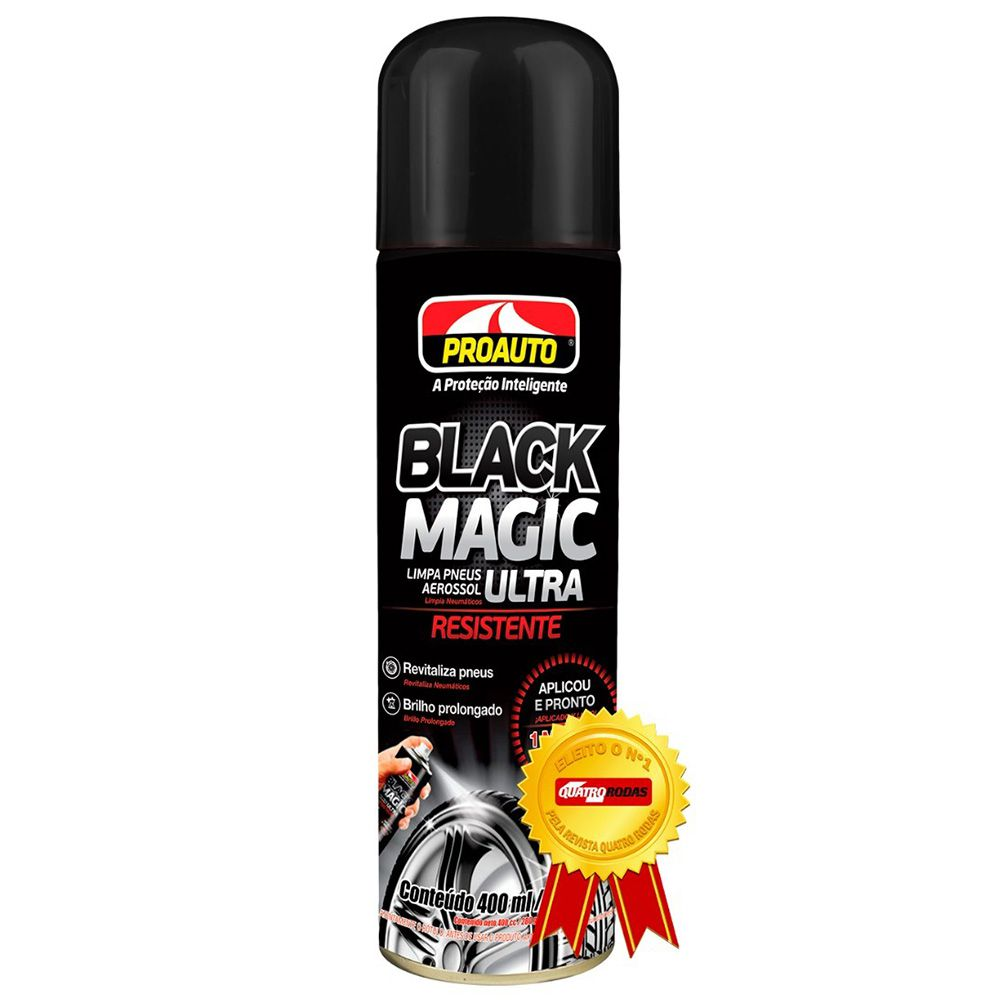 Limpa Pneu Black Magic Proauto