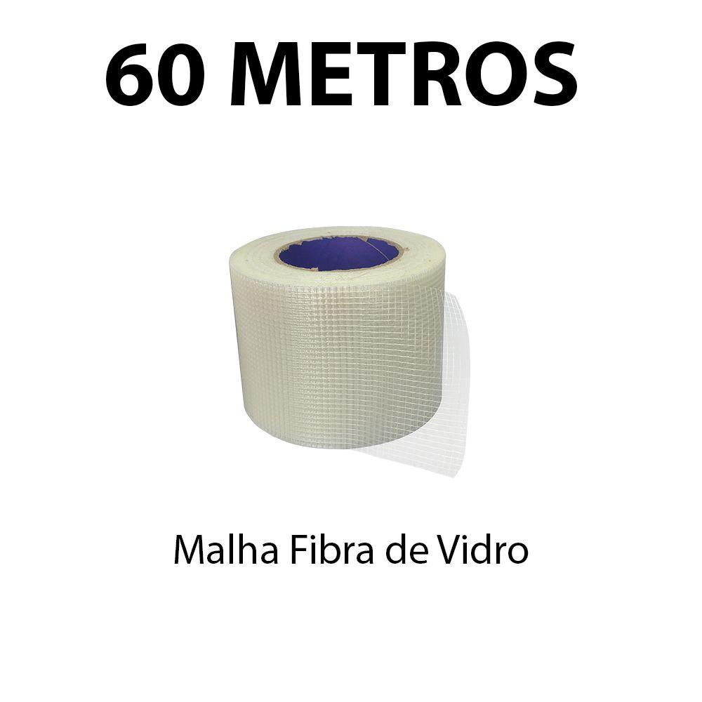 Malha Isolante Fibra de Vidro Eletrofita 60 Metros