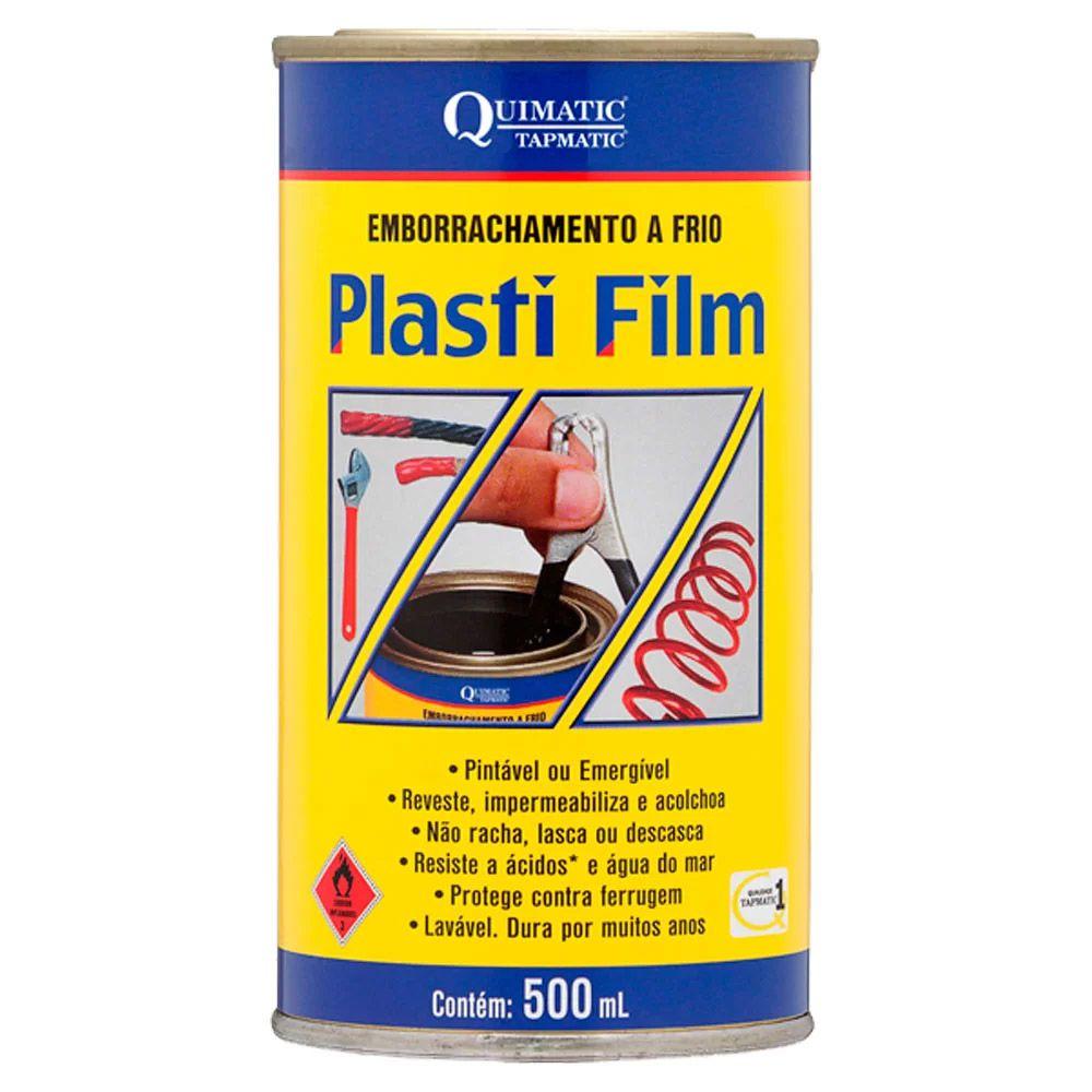 Plasti Film Preto Quimatic Tapmatic 500ml