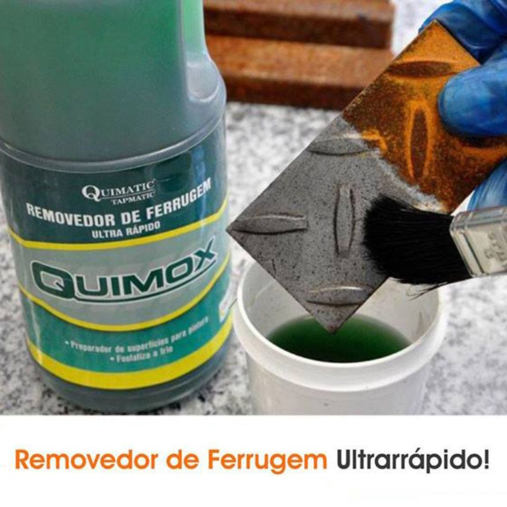 Quimox Removedor De Ferrugem 500ml Quimatic