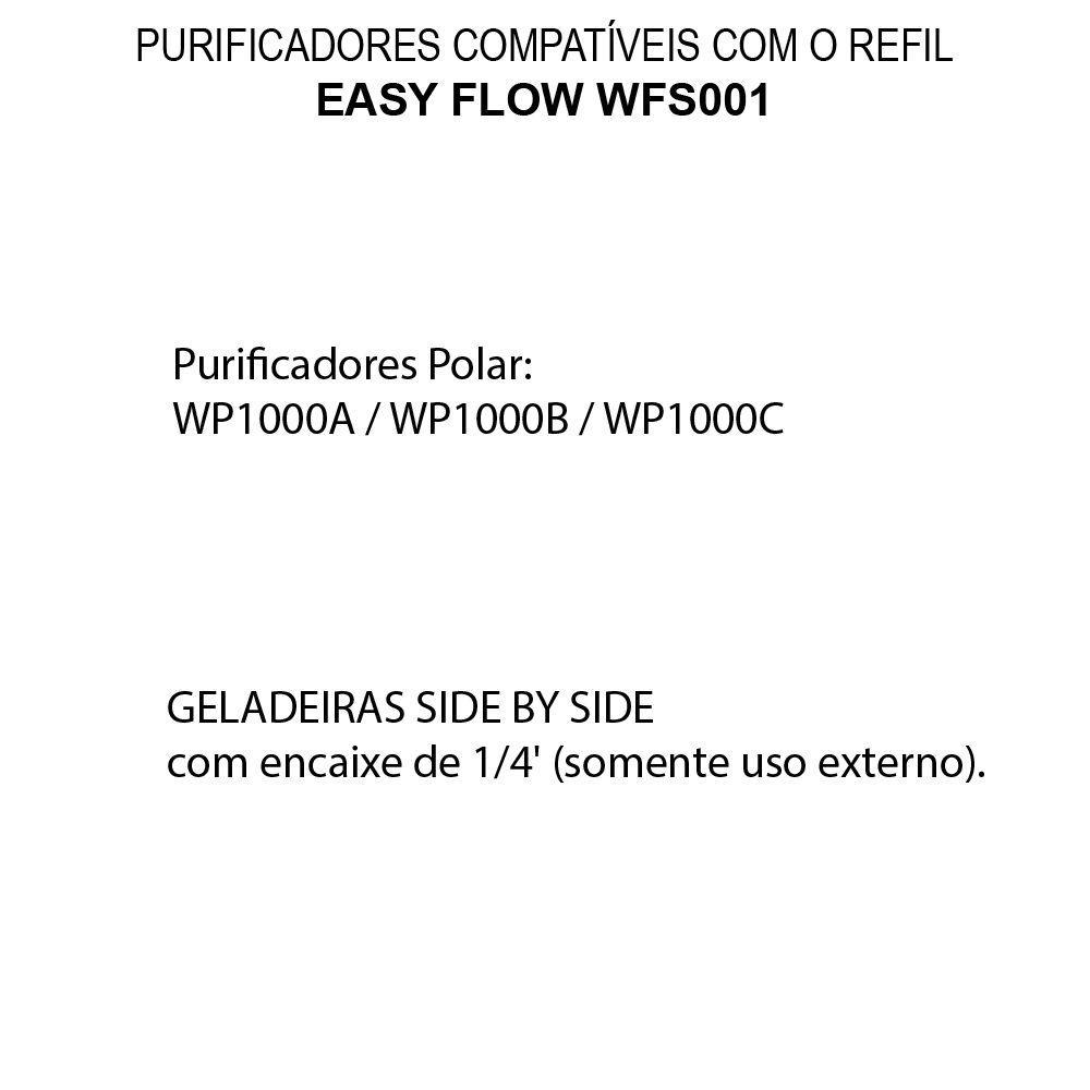 Refil Filtro De Água Eletrolux Side by Side