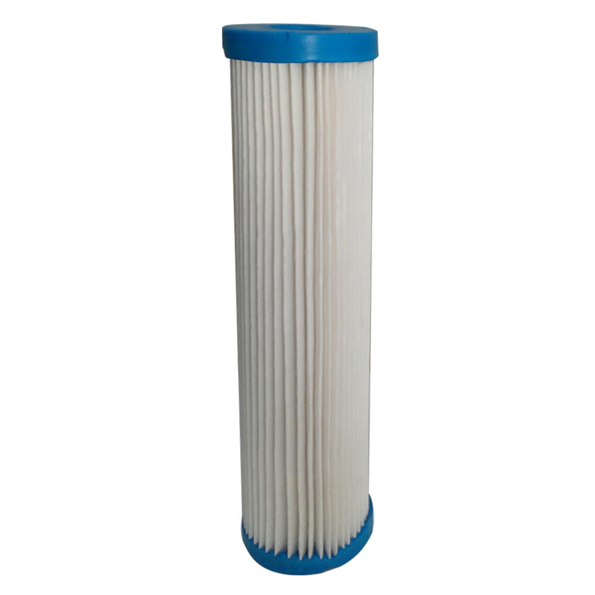 Refil Filtro Plissado Lavável 9 3/4'' 5 Micra