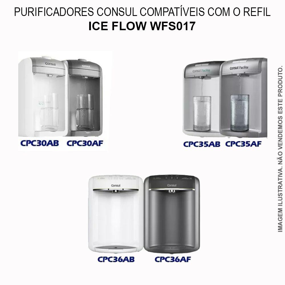 Refil Filtro Purificador Consul Cpc30 Cpc35 Cpc36