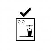 Carga de gás para purificador de água