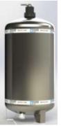 Filtro Central Retrolavável Fusati Báltico - 6.000 L/h c/ válvula 3 vias
